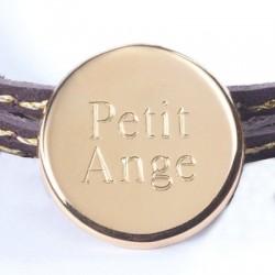 Bracelet Personnalisé Médaille gravée