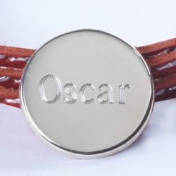 Bracelet Médaille gravée