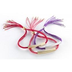 Bracelet personnalisé coloré gravé