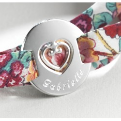 bracelet liberty fleurs