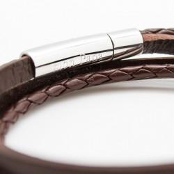 bracelet homme gravé personnalisé camel