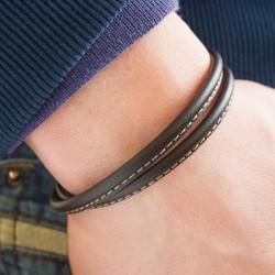 bracelet pour homme cuir personnalisé