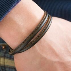 bracelet homme gravé papa
