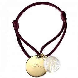 Bracelet Ange - Plaqué or