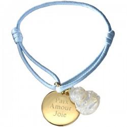 Bracelet Buddha - Plaqué or