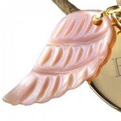 Bracelet Médaille Coeur d'Ange - Plaqué or