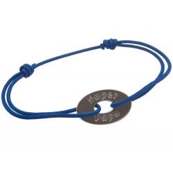 Bracelet Super Papa - Argent