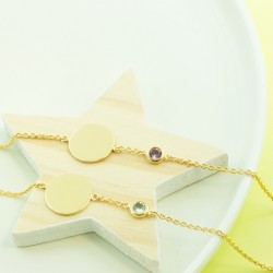 Bracelet pierre semi precieuse