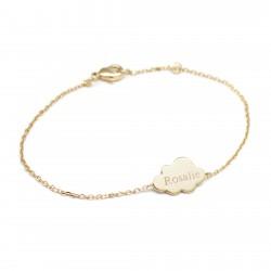 Bracelets chaine nuage