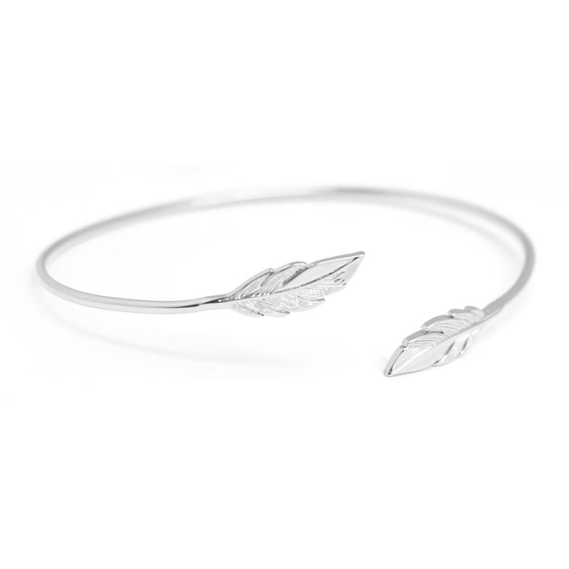 bracelet femme argent jonc