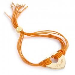 Bracelet Rainbow Coeur -...
