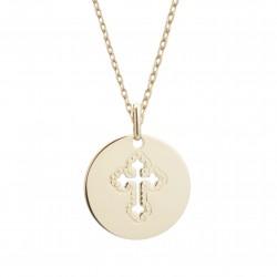 Pendentif Croix Céleste -...