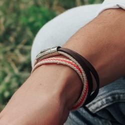 Bracelet Cuir Homme à graver
