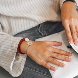 bracelet chaine personnalisé argent