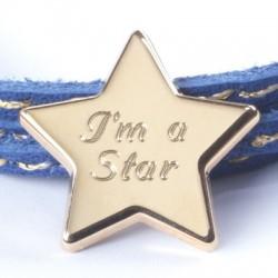 bracelet personnalisé étoile prénom