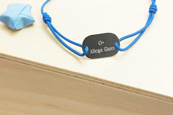 Bracelet d'identification medicale personnalisé