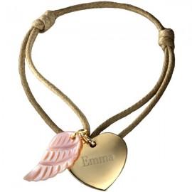 bracelet-coeur-ange-plaque-or