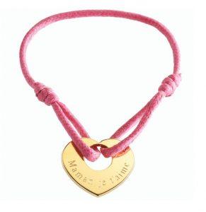 bracelet coeur maman