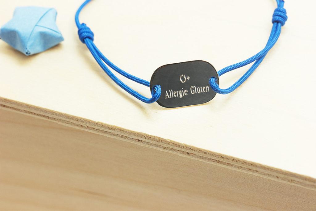bracelet identite medicale personnalisé