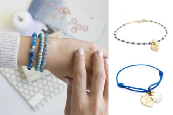 bracelets-bleus-personnalises