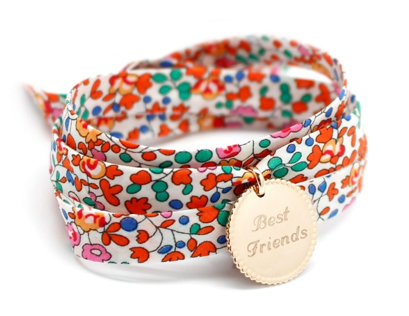 Bracelet gravé Best Friends liberty