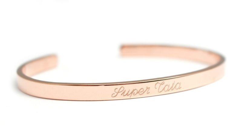 bracelet gravé super tata