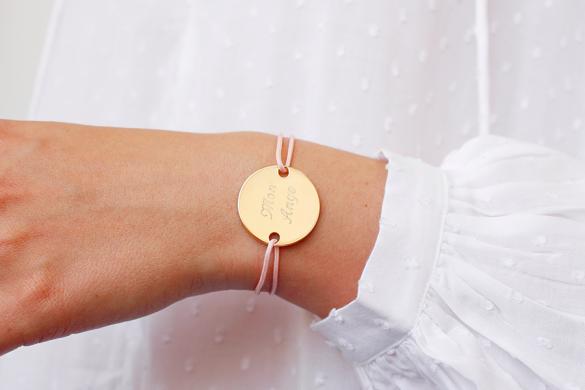 Bracelet-mon-ange-medaille-gravee