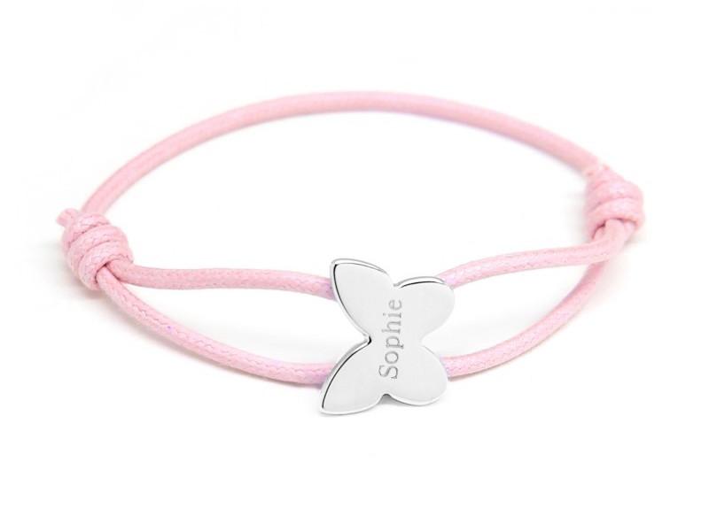bracelet-cordon-papillon-argent