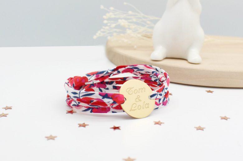 bracelet prenoms mamans petits tresors