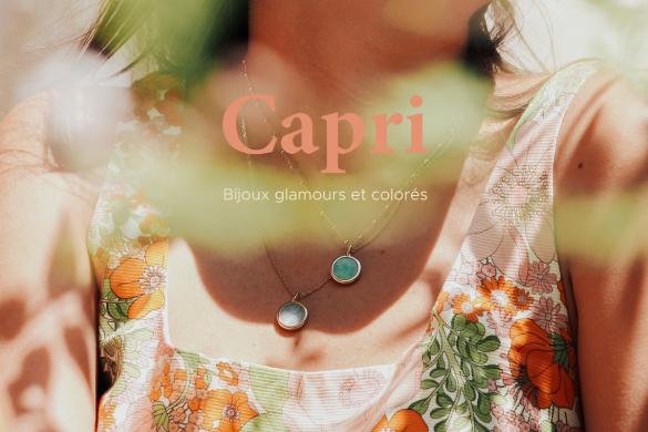 Notre nouvelle collection de bijoux personnalisés : Capri