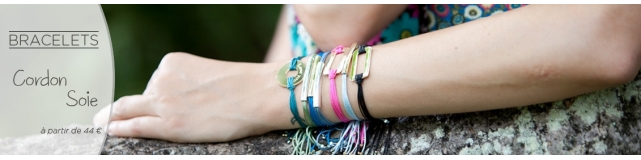 Bracelets Soie