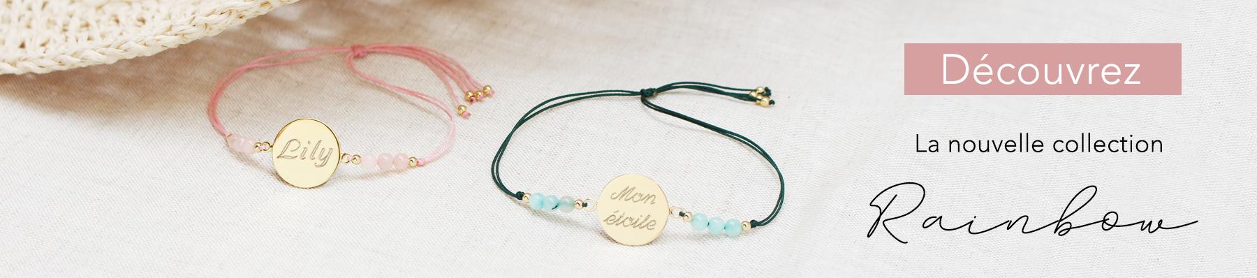 Nouveaux bracelets rainbow