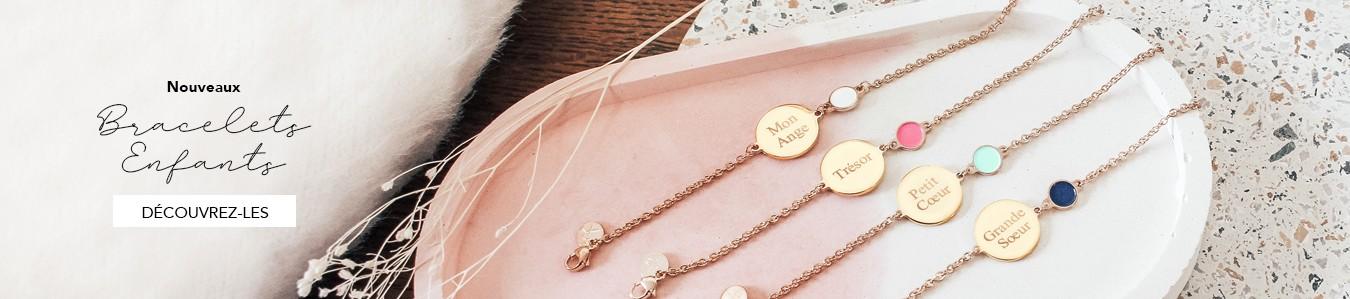 Nouveaux bracelets chaines enfants