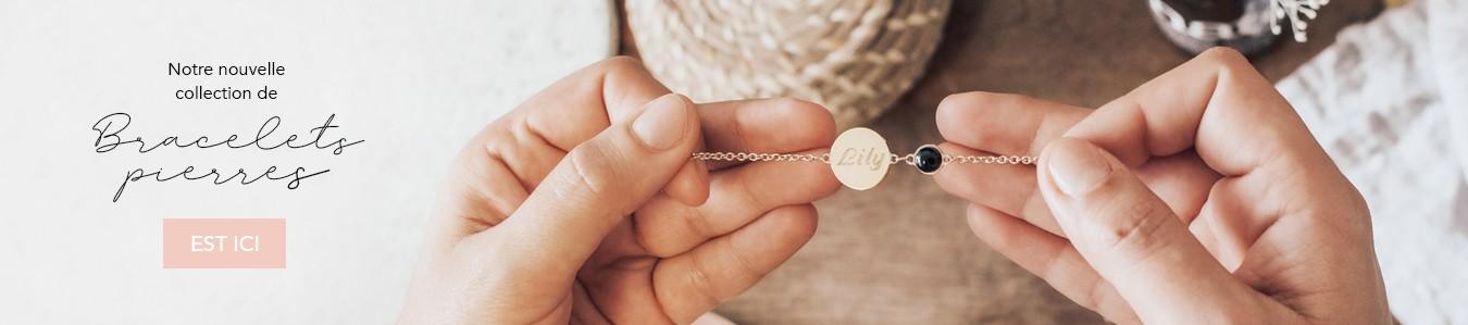 Nouveautés : Bracelets pierres